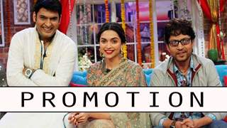 Piku on the sets of Comedy nights with Kapil