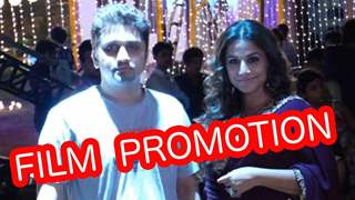 Vidya Balan and Mohit Suri on the sets of Udaan