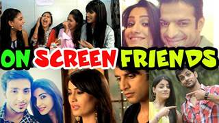 Check out on screen actors who share a special bond Off Screen!