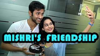 Mishkat Varma and Aneri Vajani's special treat on friendships day