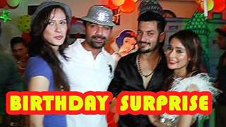 Friends surprise Sara Khan on her birthday