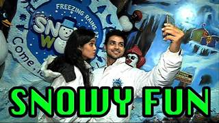 Shakti Arora and Neha Saxena's fun at Snow World
