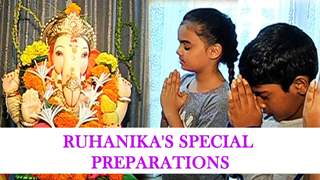 Special treat for Ruhanika Dhawan's bappa