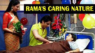 Who is the one Rama caring for?