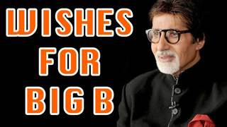 Television actors give out Birthday wishes to Amitabh Bachchan