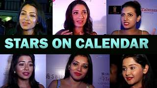 Tinsel town actors talk about Telly Calendar as they flaunt their styles