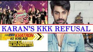 Karan Wahi refuses to take up Khatron Ke Khiladi