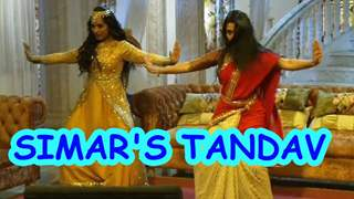 Why is Simar doing the 'Tandav' on Sasural Simar Ka?