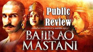 Public Review of Bajirao Mastani