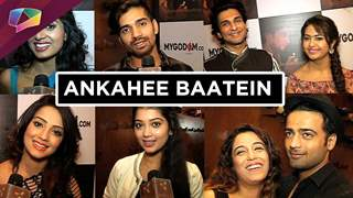 TV celebs share their Ankahee Baatein