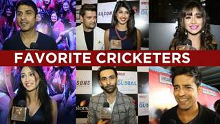 Telly actors and their favorite Cricketers