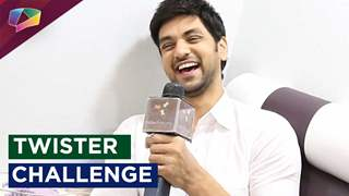 Shakti Arora takes up the 'Twister Challenge'