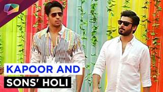 Kapoor and Sons at Life OK's Holi special