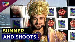 Shaleen Bhanot on difficulties while shooting during summer and more