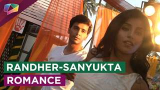 Check out Randheer and Sanyukta's romantic dance