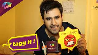 Pearl V Puri plays Tagg It with India Forums