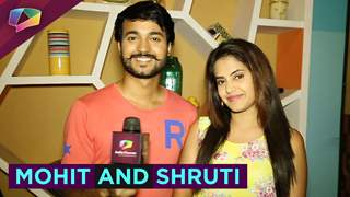 Chit Chat with Mohit Gaur and Shruti Prakash on Ishq Unplugged.