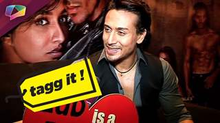 Tiger Shroff plays a fun segment with India Forums