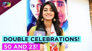 Double Celebration time for Erica Fernandes