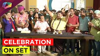 Multiple birthday celebrations on the sets of Taarak Mehta Ka Ooltah Chashmah.