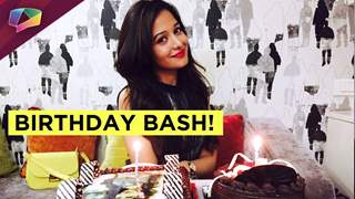 Preetika Rao celebrating birthday with India Forums