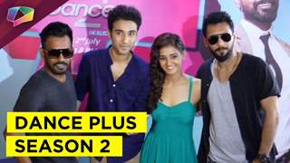 Launch of Dance Plus Season 2 with Remo Dsouza & team