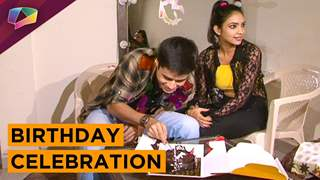 Anshuman Malhotra celebrated his birthday on sets of Naagarjun