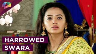 In Swaragini, Swara is distressed as she learns about Sahils conspiracies and tries to escape him