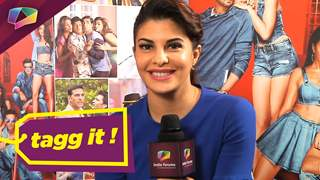 Jacqueline Fernandez plays our fun game of Tag-It