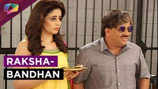 Rakhsha-Bandhan celebrations behind the bars in May I Come In Madam