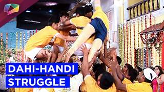Sajan struggles to break dahi-handi to impress Sanjana