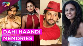 Dahi Haandi memories of your favourite TV stars