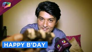 Welcome to Diya Aur Baati star Anas Rashid's birthday celebration