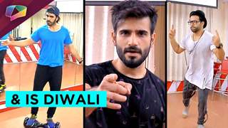 Rithvik Dhanjani, Karan Grover and Karan Tacker dance rehearsals