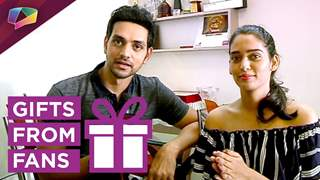 Shakti Arora and Neha Saxena gift segment part-2