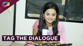 Helly Shah plays Tag The Dialogue