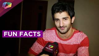Sidhant Gupta shares some facts about him