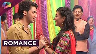 Aryan and Sanchi's cute and colourful romance
