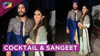 Exclusive Suyyash and Kishwer breaking the dance floor in their Sangeet
