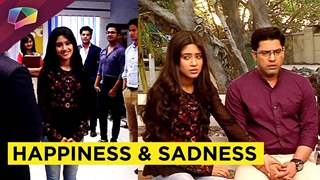 Happiness for Kartik and Sadness for Naira