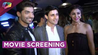 Gurmeet Chaudhary's new movie's screening