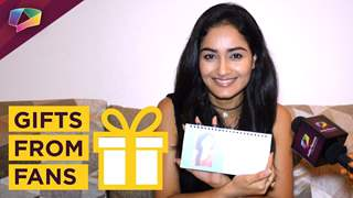 Tridha Chaudhary receives bgifts from fans