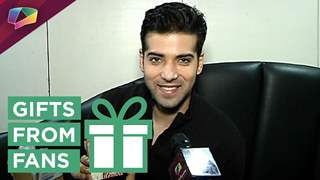Kinshuk Mahajan receives gifts from fans
