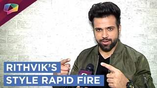 Rithvik Dhanjani's style rapid fire