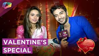 Shivani Surve And Vikram Singh Chauhan talk about Valentine's Day   Reveal Single Or Not