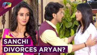 Sanchi gives Aryan a DIVORCE leaves for AUSTRALIA? | Ek Rishta Saajhedari Ka | Sony TV