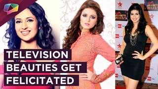 Divyanka Tripathi, Drashti Dhami, Vahbiz Dorabjee Get Felicitated On Women's Day'