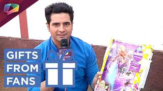 Karan Mehra Receives Gifts From Fans | Exclusive | Gift Segment