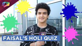Faisal Khan Shares His Holi Plans | Holi Special
