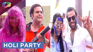 Rithvik Dhanjani, Asha Negi, Mona Singh And Others Spotted At The BCL HOLI PARTY